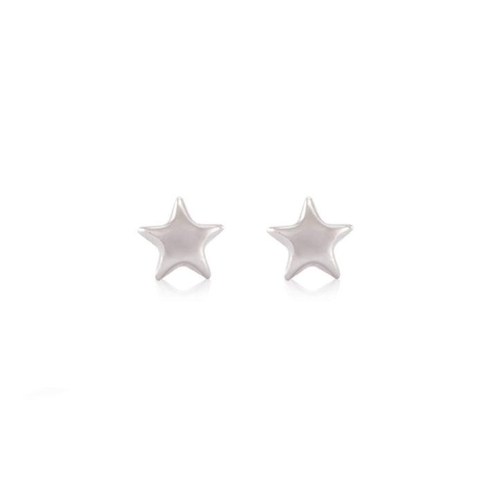 Earrings Silver Star Pack